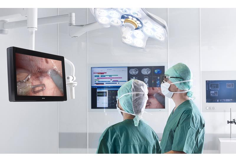 3D display in the OR