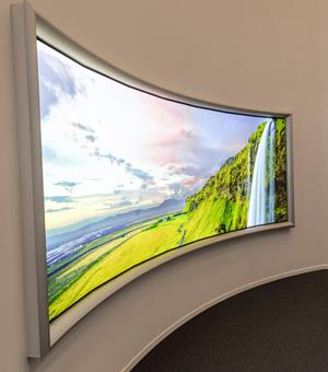 viewing angle led video wall