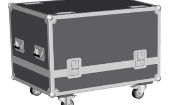 HDX-W14 flight case