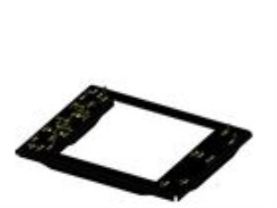 Projector adapter plate