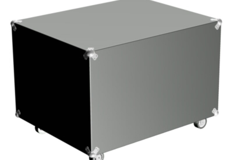 XLM flight case for two lamps