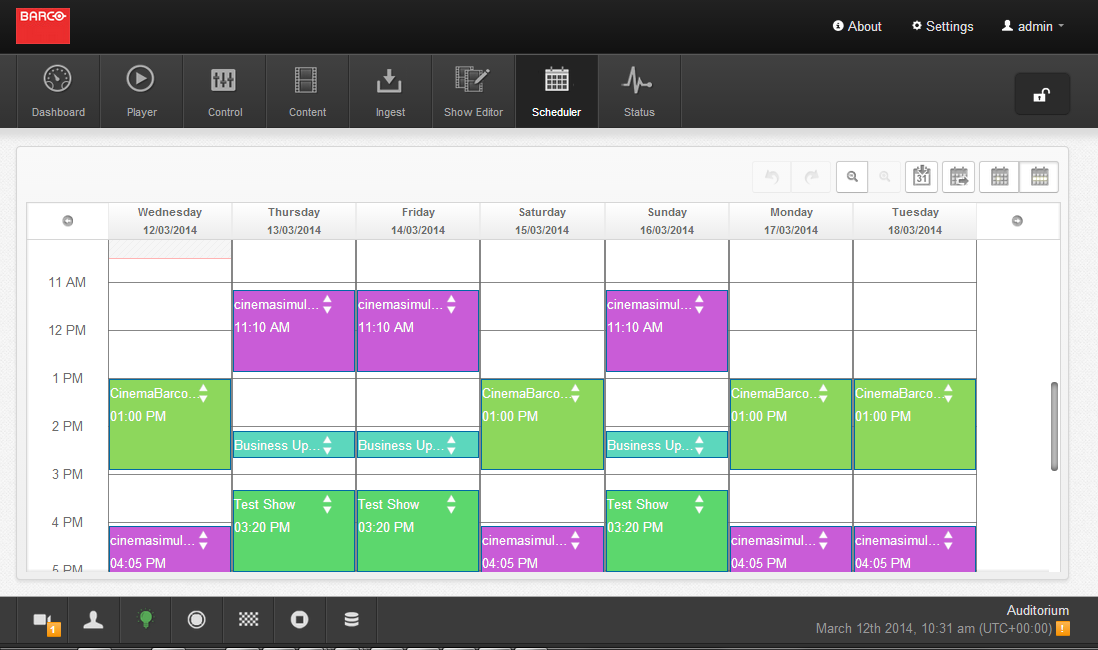 Web Commander Scheduler