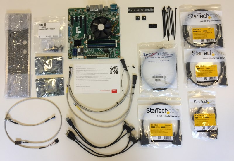 EC 210 upgrade kit