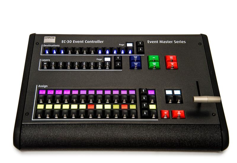 Event Master EC-30 controller front view