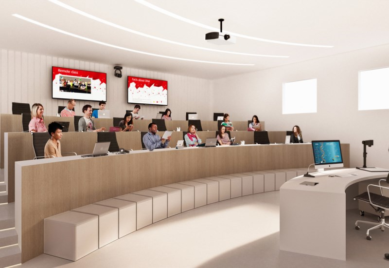 weConnect - BYOD Lecture Hall