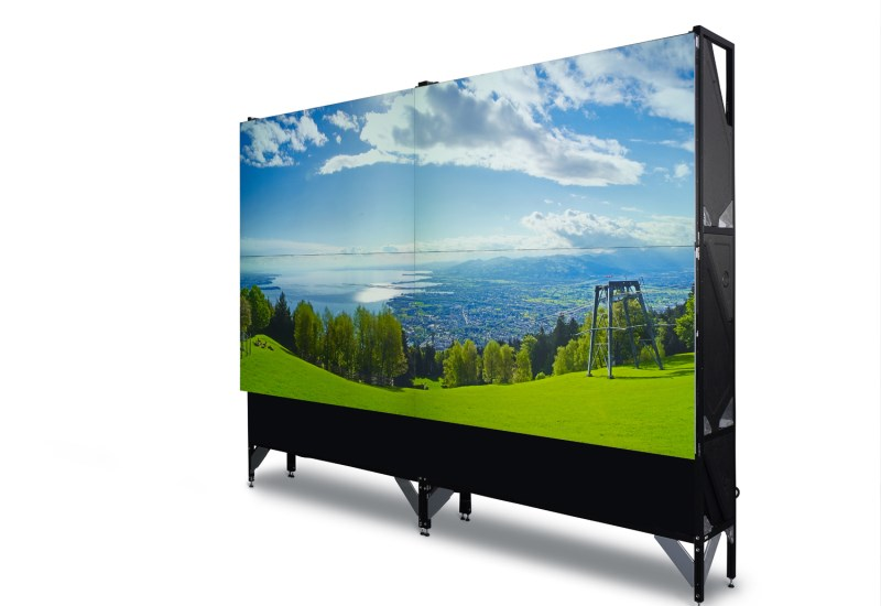laser lit rear projection video walls for 247 control rooms