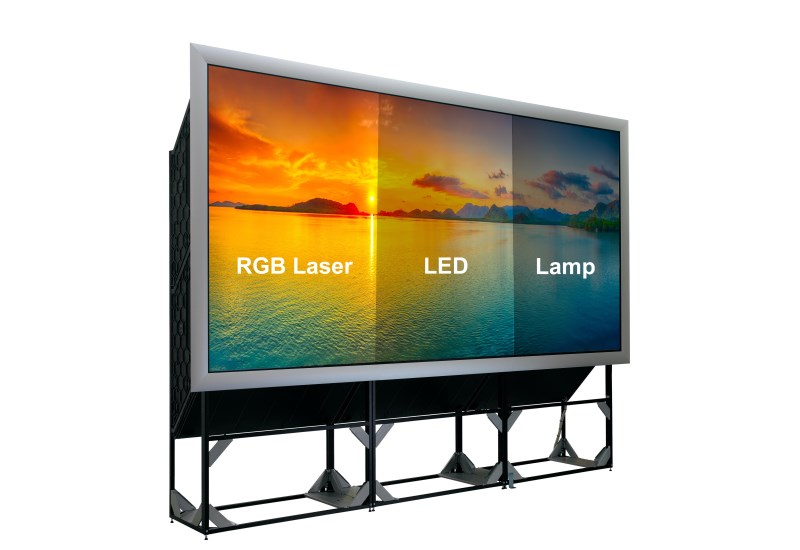 Upgrade to an RGB Laser video wall