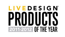 Live Design products of the year 2011-2012