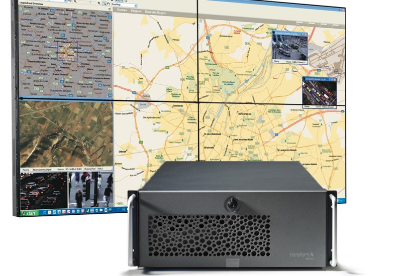 High-performance Networked LCD video wall bundle - Barco