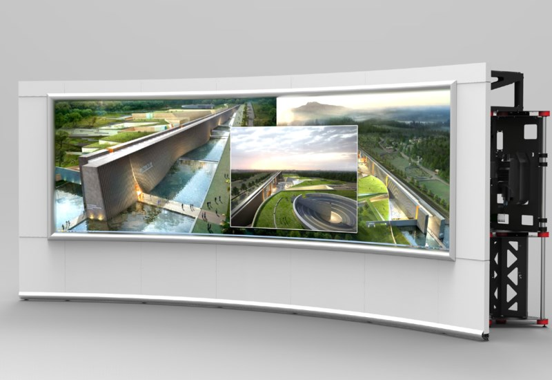 OverView OSV seamless collaboration video wall