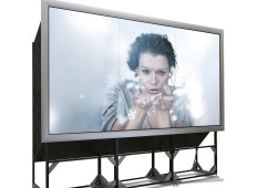 LED rear-projection video walls