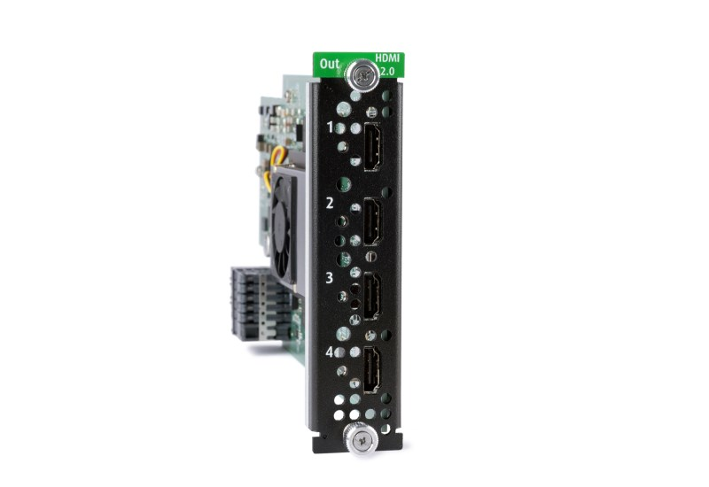 HDMI 2.0 Quad Output card