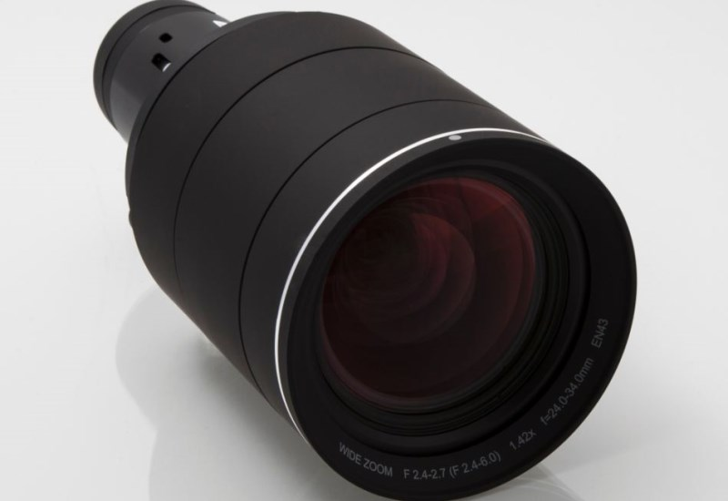 EN43 wide-angle zoom projector lens