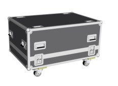 Flight Case de transport pour projecteurs RLM