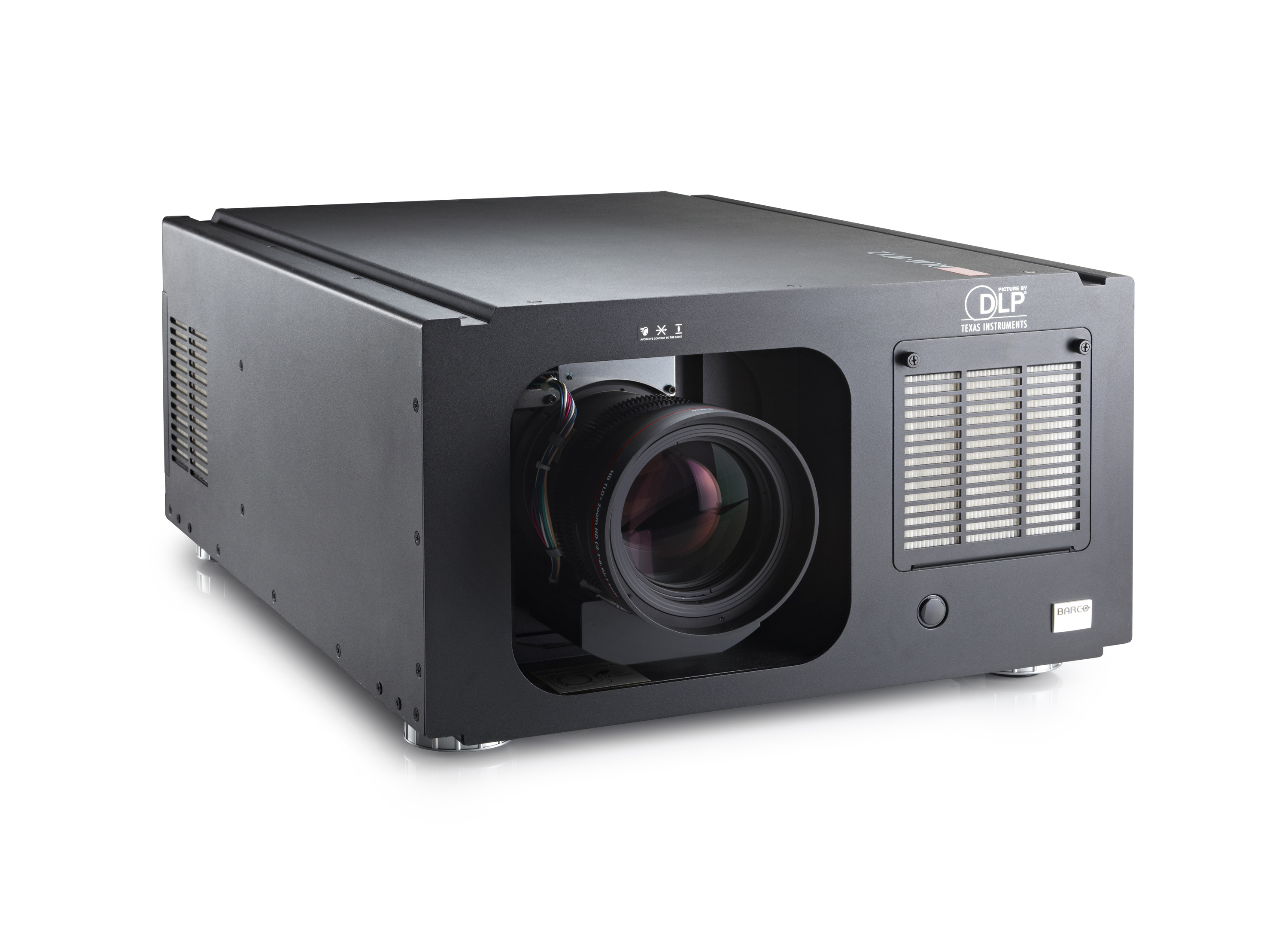 11 500 lumens wuxga dlp projector rlm w12 barco. Black Bedroom Furniture Sets. Home Design Ideas