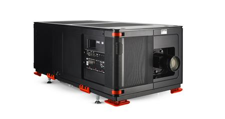 Barco SP4K-B left high persp