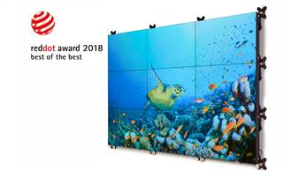 Barco UniSee LCD video wall