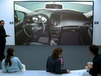 barco upgrades passive stereo display to 1080p hd resolution at psa peugeot citro n v lizy barco. Black Bedroom Furniture Sets. Home Design Ideas