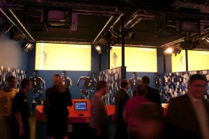 Immersive visualization at the Soccer Circus