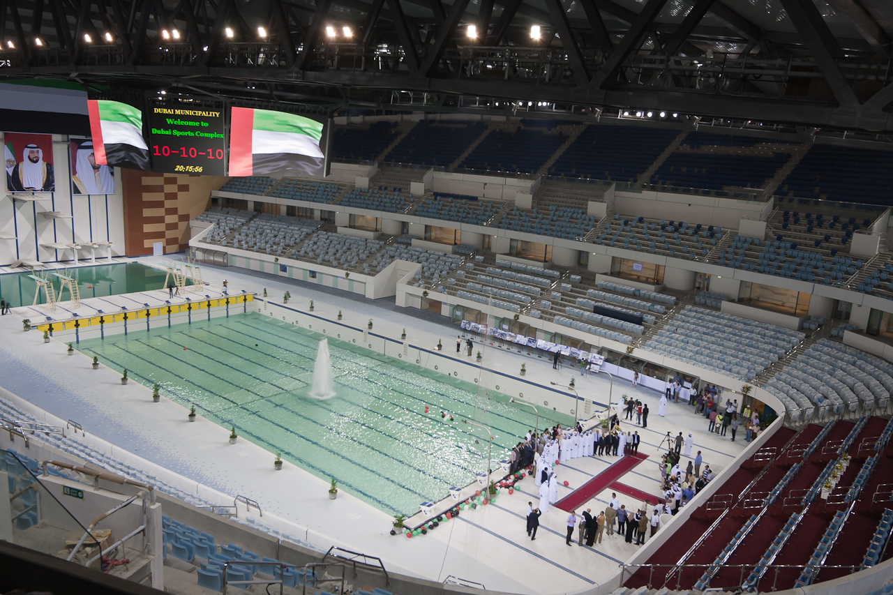 Dubai Swimming Pool Barco