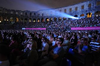 Barco DP2K-32B at the Pula Film Festival, Croatia