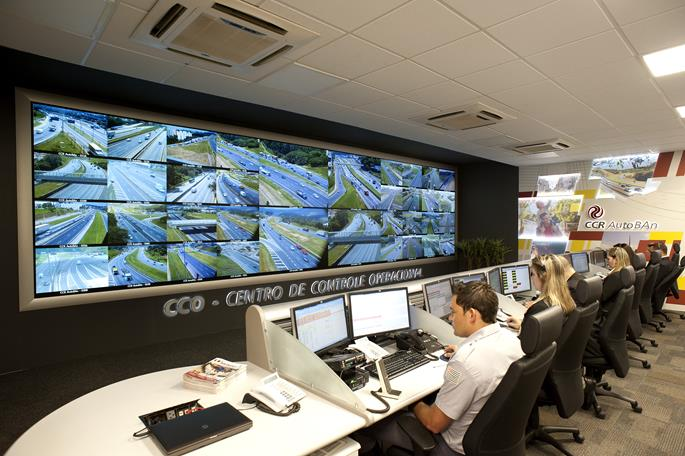 Barco Video Wall Contributes To Safer Highways In Brazil - Barco