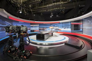 VTM news studio
