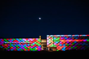 satis&fy projection mapping
