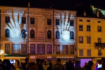 Projection mapping in Gorizia