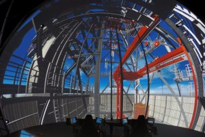 MHWirth drilling simulation dome, South Korea