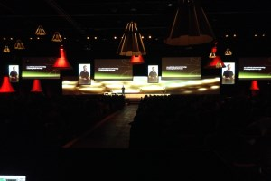 Creative AV set-up at World Creativity Forum