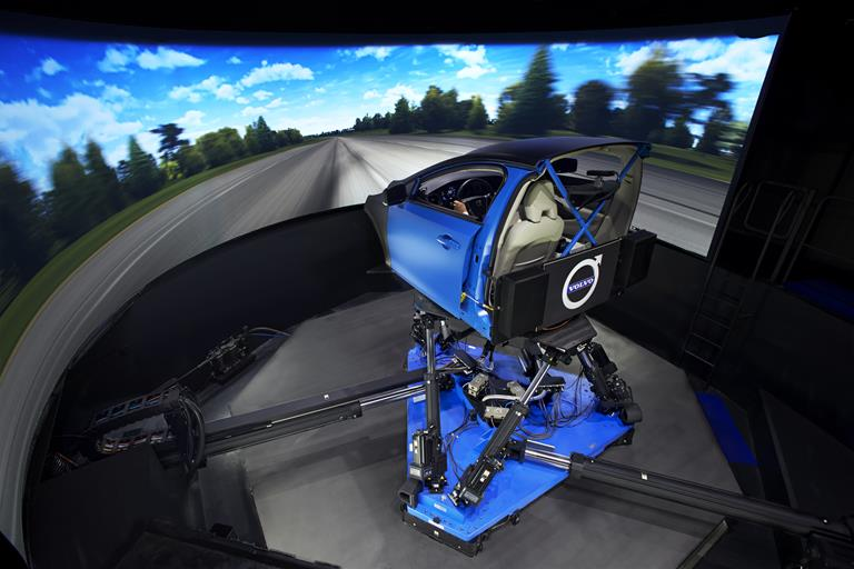 VI-grade's DiM Driving Simulator at Volvo Car Group