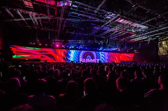Adobe summit, with images processed by Event Master