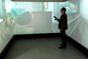 Immersive Barco cave underlines NYU Abu Dhabi's reputation as an educational leader in 3D VR research