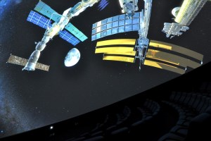 Travel into space at Trondheim Science Center