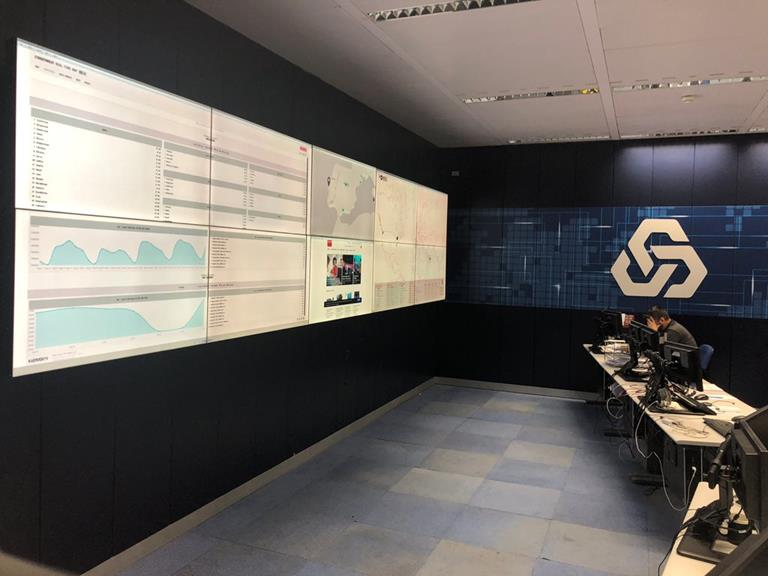 Supervising Banco Caixa Geral's IT infrastructure with Barco's latest LCD video wall displays