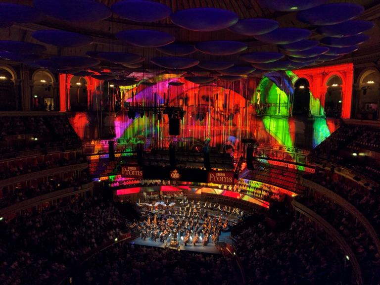 Classical music with a modern twist: Barco lit up London's Royal Albert Hall for the BBC Proms