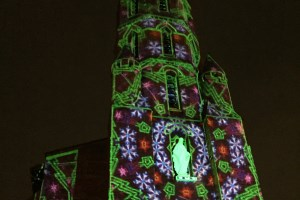 Video mapping on France's heritage churches? Our HDX projectors are up to it!