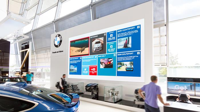 barco led displays help deliver the ultimate visitor experience at
