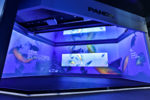 Barco UniSee wows visitors at Panda CEC Experience Center