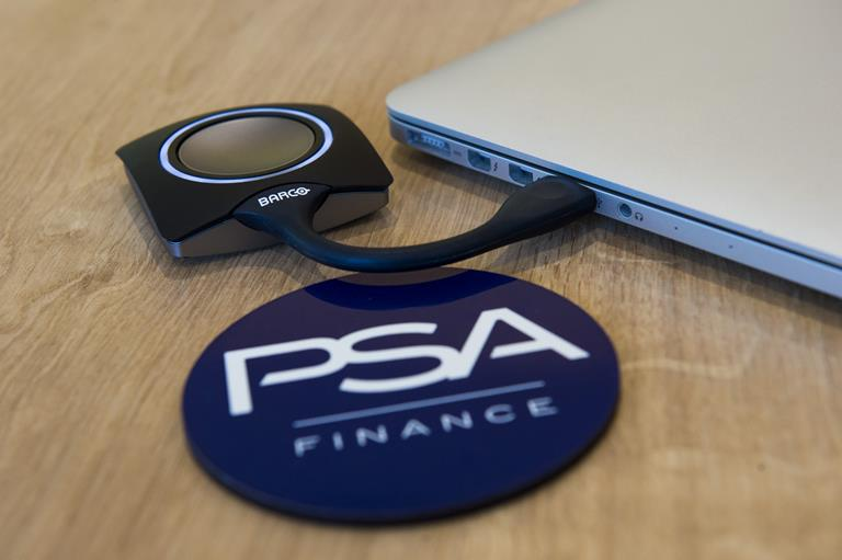 ClickShare transforms meeting experiences and slashes the number of IT tickets at PSA Finance