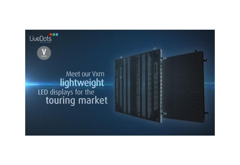 Discover the Vxm LED displays for the touring market