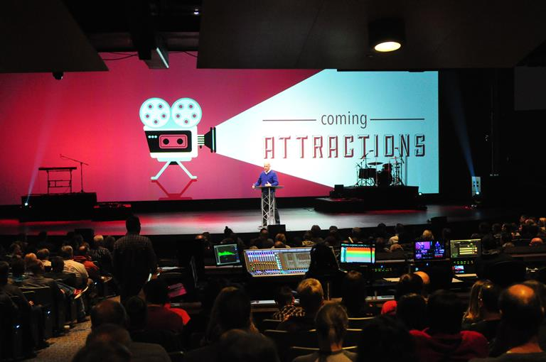 Projection and Master Processor for Indiana-based Northview Church